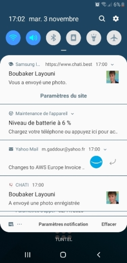 MQTT CHAT mobile FCM notifications